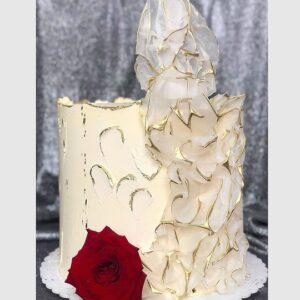 Торт «Красная роза»