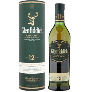 Шотландский виски Glenfiddich 12 лет, 40%, — 0,7л