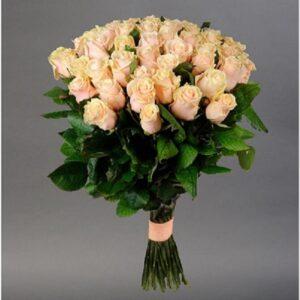 Букет роз (51шт 80см)