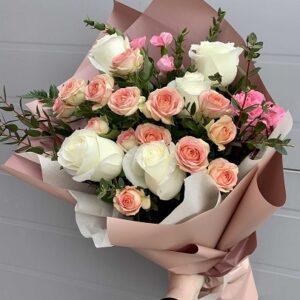 Букет из кустовых роз (5 роза)