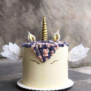 Торт «Единорог с крыльями»