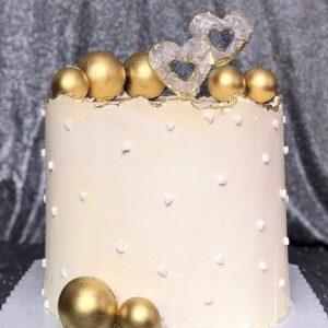Торт «Золотое сердце»