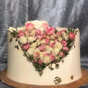 Торт «Розовый сад»