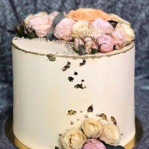 Торт «Поляна роз»