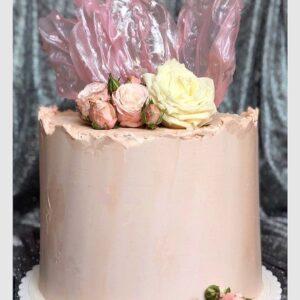 Торт «Розовая нежность»