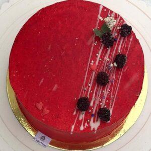 Торт «Красный велюр»