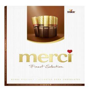 Merci Finest Selection Конфеты из темного шоколада 250 г