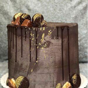 Мужской торт шоколадный с OREO