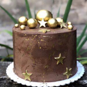 Торт «Золотые шары «