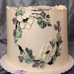 Торт «композиция цветов»