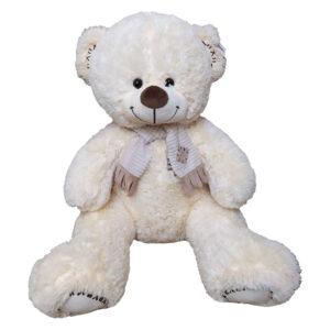 Большой Медвежонок с шарфом (85 см)