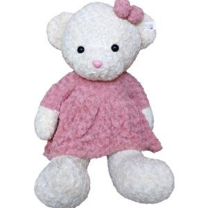 Большая Медведица в розовом платье (100 см)