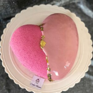 Муссовый  торт (сердце )