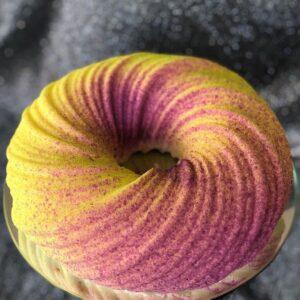 Муссовый  торт (неоновый круг)