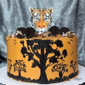 Торт c тигром
