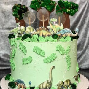 Торт «Эра динозавров»