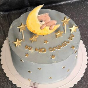 Торт «Мишка на луне»