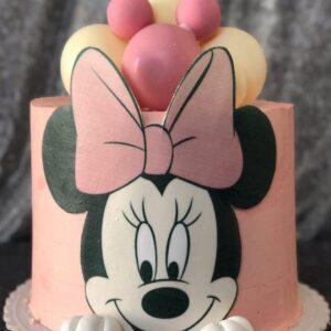Торт «Минни маус»
